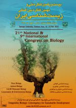 بیست و یکمین کنگره ملی زیستشناسی ایران